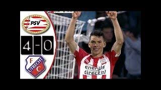 PSV vs Utrecht 4-0 Resumen Highlights Goles 11/08/2018