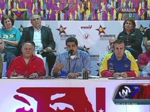 Presidente Maduro en reunión con las UBCH de Aragua, 25 de junio de 2014
