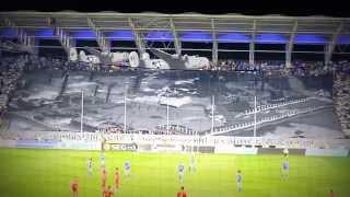Petrolul - Steaua 30.09.2012 (prima coregrafie 3D din Romania) 1080p