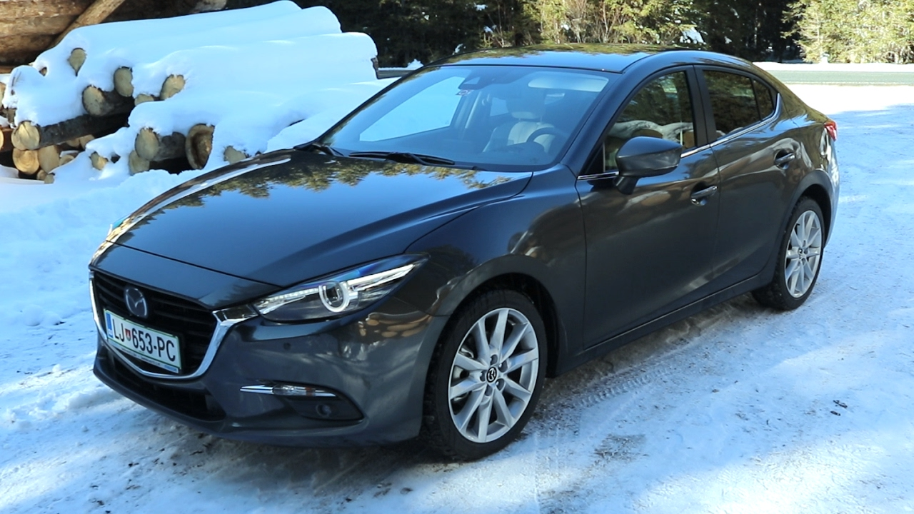 2017 Mazda3 Sedan >> Mazda 3 sedan 2017 - YouTube