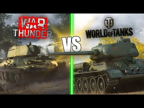 War Thunder Vs World Of Tanks || Which Game Is BETTER?