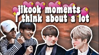 jikook moments i think about a lot