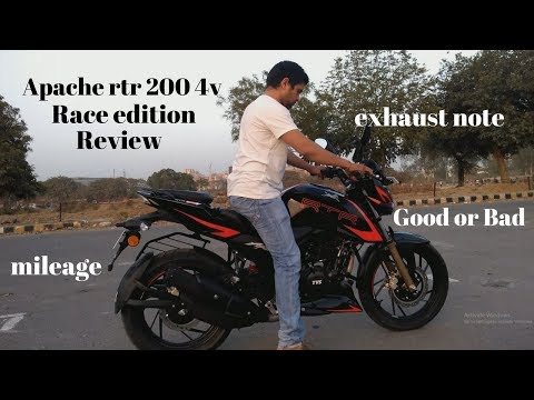 Apache RTR 200 4v  Race edition-2018 Review.