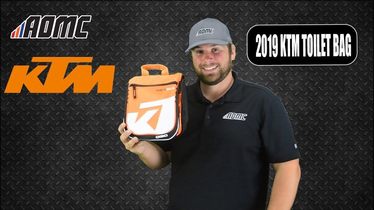 5e0cfd059b 2019 KTM Corporate Doppler Toilet Bag - YouTube