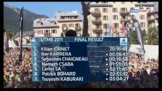 Eurosport - The North Face UTMB - Ultra Trail Mont Blanc 2011 (2/2)