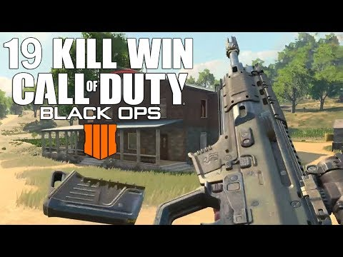 19 Frag Solo Victory! (Call Of Duty Blackout Beta Gameplay)
