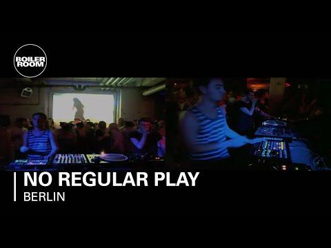 No Regular Play live in the Boiler Room Berlin