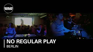 No Regular Play live in the Boiler Room Berlin
