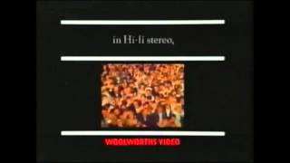 THE BEATLES   2 MOVIE RELEASES ON VIDEO   WOOLWORTHS TV ADVERT  1990  THAMES TELEVISION  HD 1080P