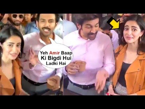 Kartik Aryaan Makes FUN Of Ananya Panday For Doing DRAMA On The Sets Of Pati Patni Aur Woh Mp3