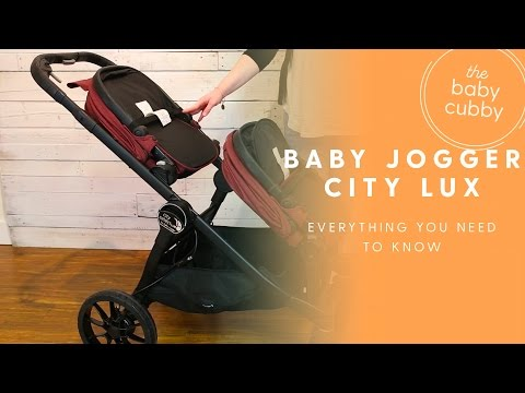 NEW 2017 Baby Joggers CITY LUX Double or Single Stroller HOW-TO  EXPECTED MAY 2017