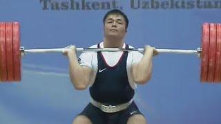 2016 Asian Weightlifting Championships, Men 94 kg \ Тяжелая Атлетика. Чемпионат Азии