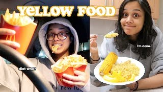 i only ate yellow food for 24 hours | clickfortaz