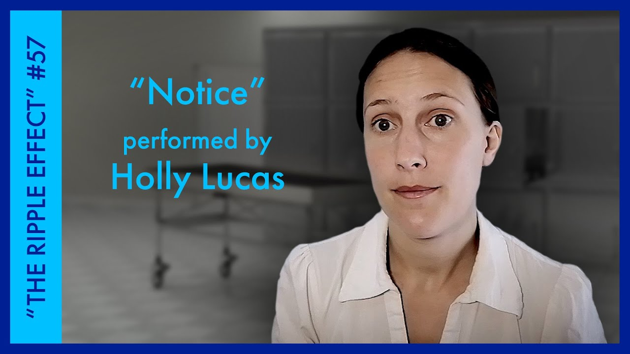 """""""Notice"""" Performed by Holly Lucas 