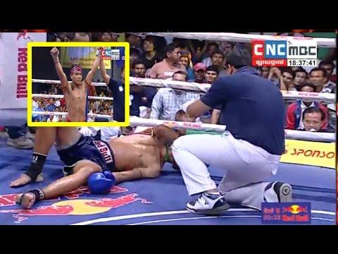 Meas Chanmean vs Watchharasak(thai), Khmer Boxing CNC 29 Apr 2017, Kun Khmer vs Muay Thai