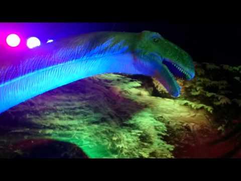 Expo dinosaurio 2015, santiago con el agus.