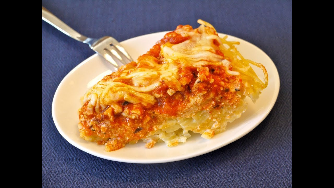 Easy Dinner Recipes For Kids How To Make Spaghetti Pie