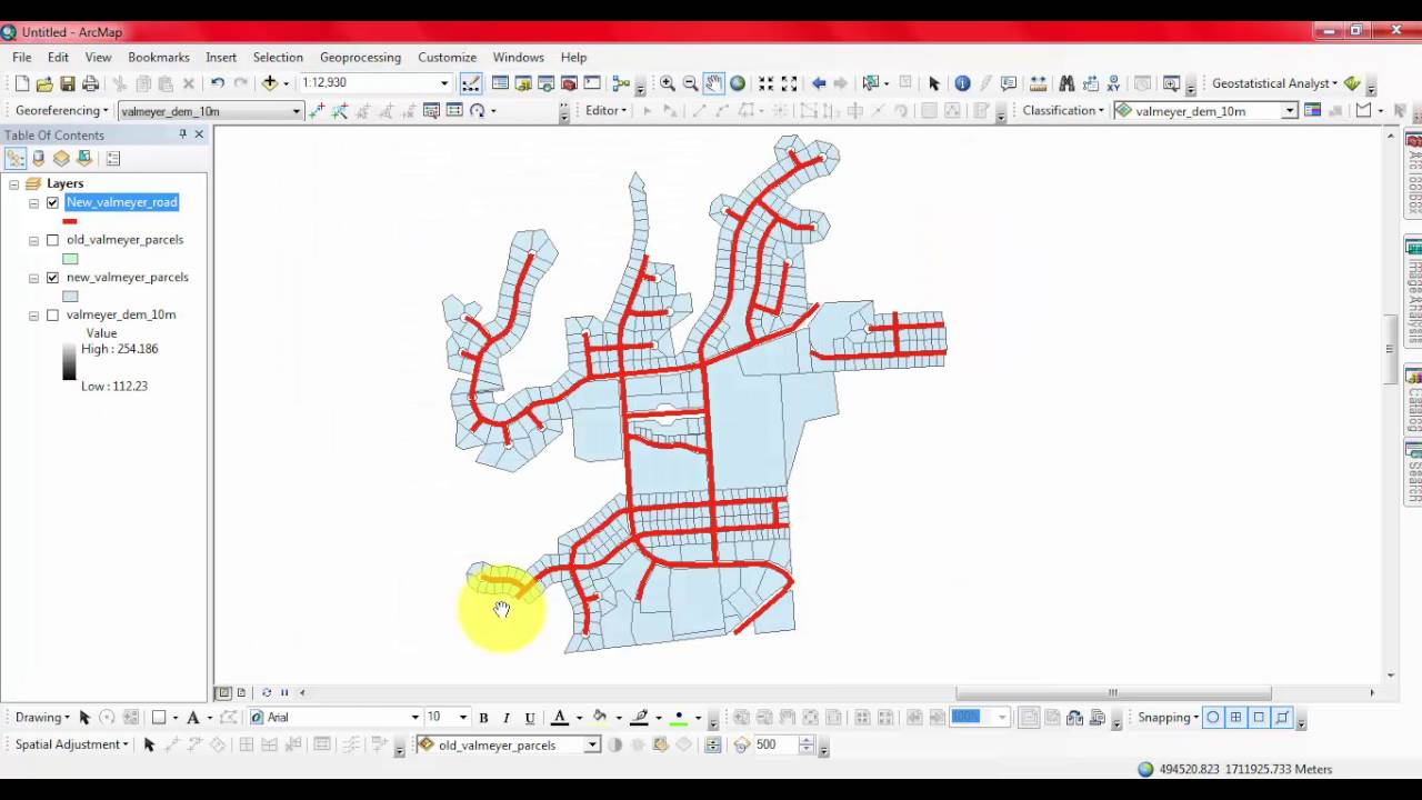 How to use buffer tool in ArcGIS
