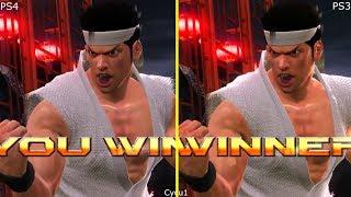 Virtua Fighter 5 Final Showdown PS3 vs PS4 Pro Graphics Comparison