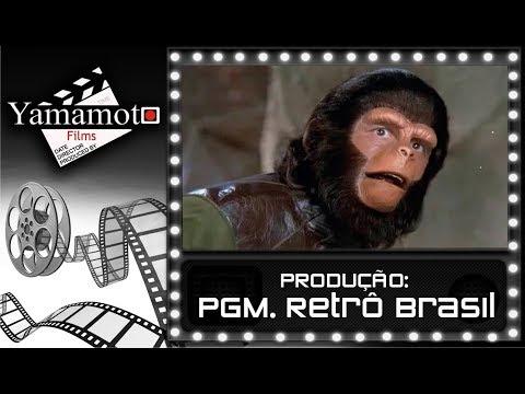 46 RETRÔ BRASIL   PLANETA DOS MACACOS