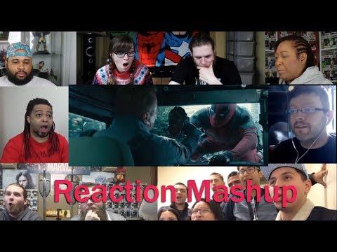 'Deadpool 2  The Trailer' REACTION MASHUP