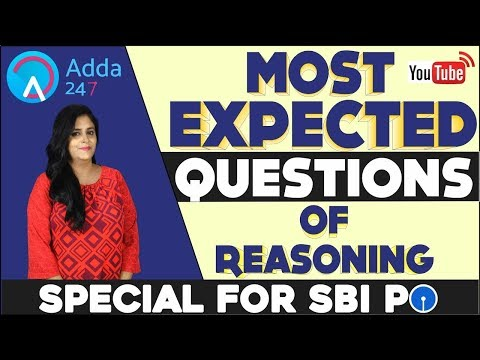 80 Day Study Plan | Expected Questions For SBI PO PRE | Reasoning | Akanksha Ma'am