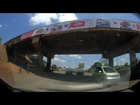 From inside Runda, towards northern bypass, passing through the shortcut through Thindigua Part 1
