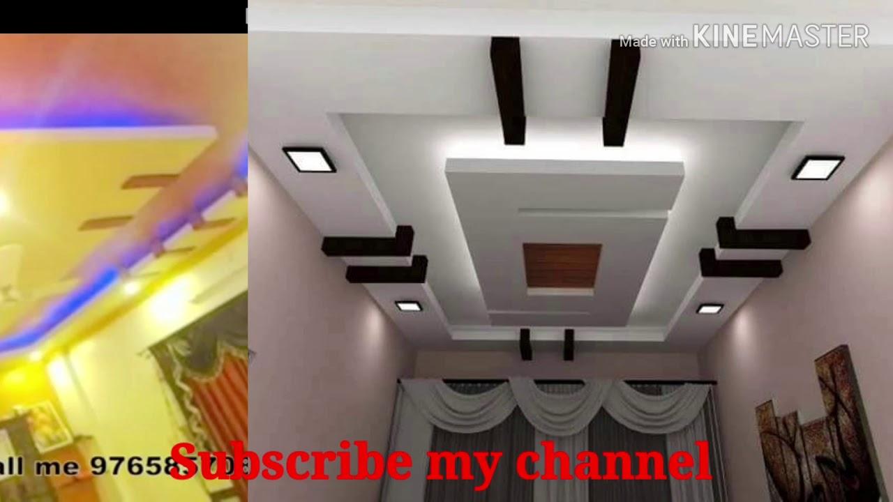 Pop ceiling design new 8 bedroom pop - YouTube