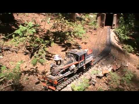 Big Hill Timber Company, model railroad