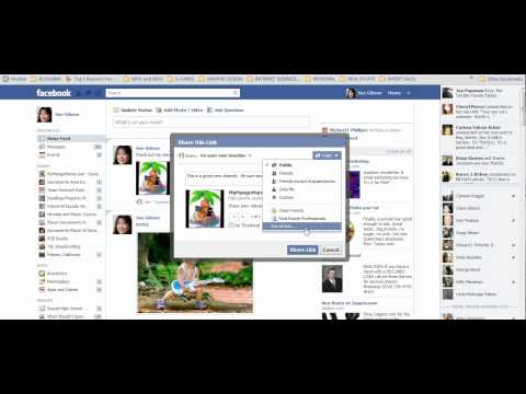 How to Share Facebook Posts, Photos and Links