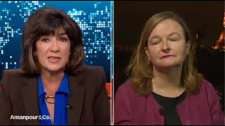 Christiane Amanpour Cites Ahmadiyya Muslim Khalifa's Condemnation of France Knife Attacks""