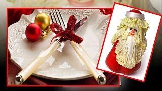 Праздничный стол. Красивое оформление салатов и закусок