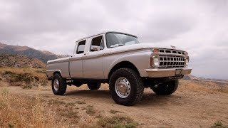 ICON 1965 Ford Crew Cab Reformer Project  EPIC!!!