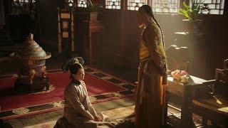 貴妃得知真相質問皇上,多年衷情一日心寒,將自己困與房中放火自焚!