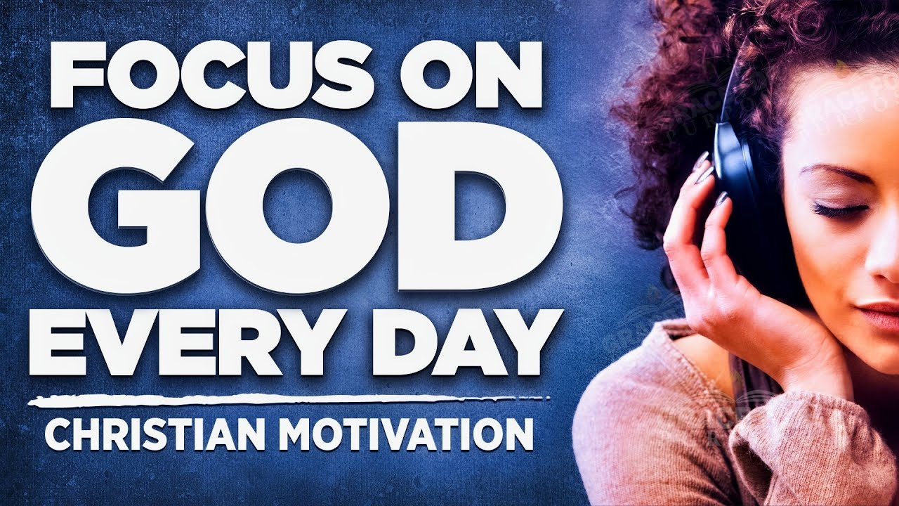 Focus On God Not Your Problems! | Best Christian Motivation