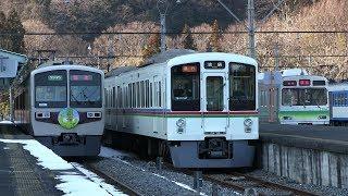 埼玉の最果て三峰口駅 秩父鉄道の電車いろいろ