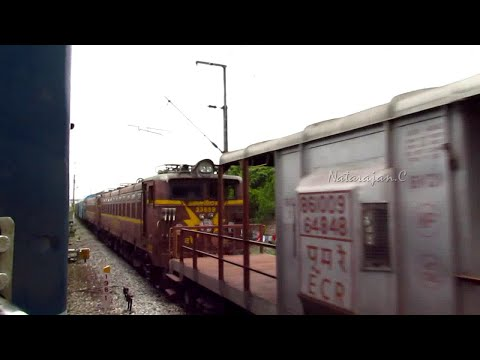 India's Longest Trains : Python Freights