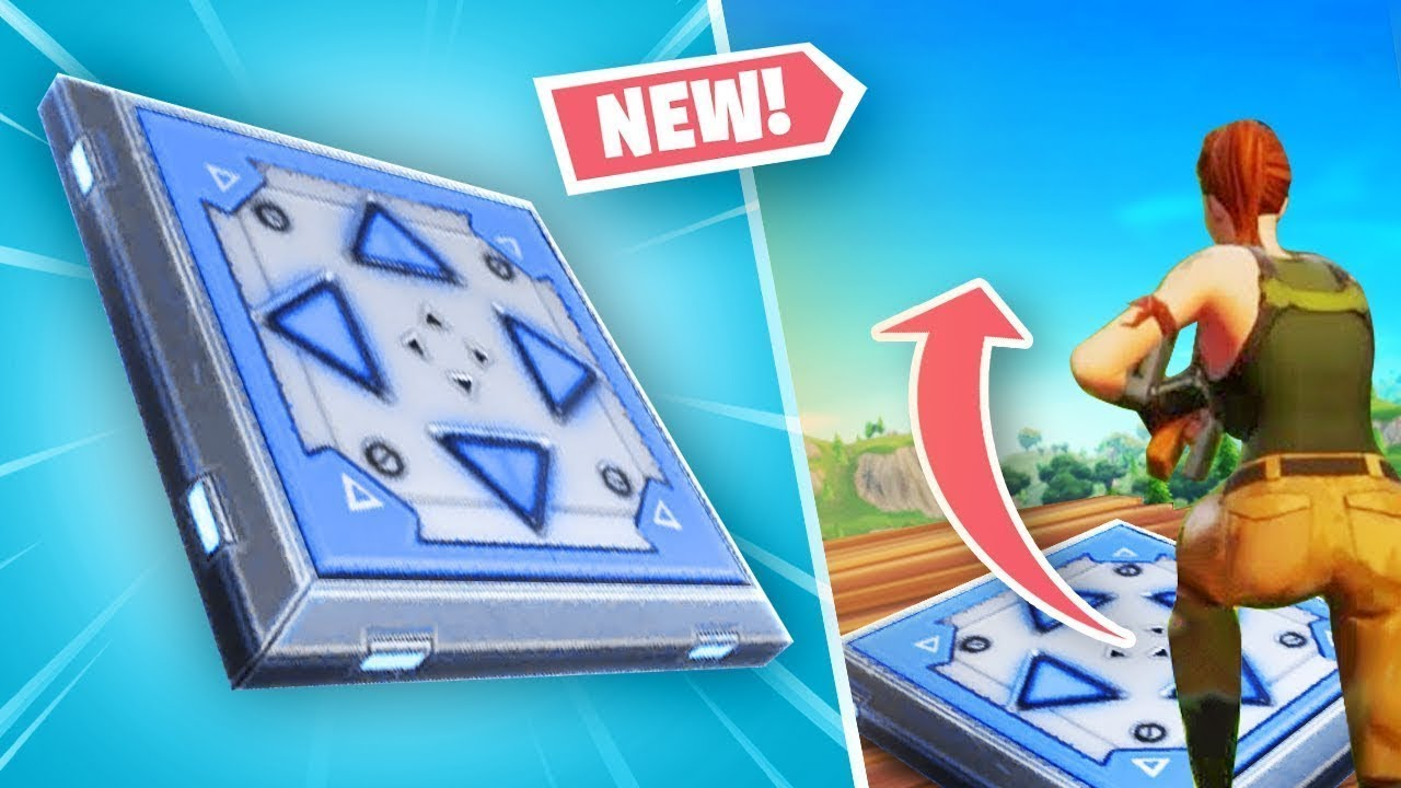 "BOUNCE PAD IN A BOX!! ""FORTNITE MOBILE"" TROLL ENDING!!"