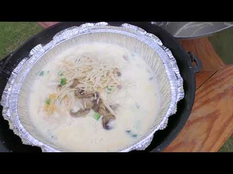 Dutch Oven Turkey Tetrazzini and Oklahoma Wildlife Expo