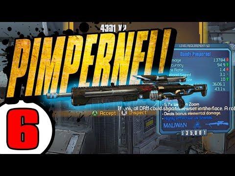 PIMPERNEL!! Road to OP8 Zer0 - Day 6 [Borderlands 2]
