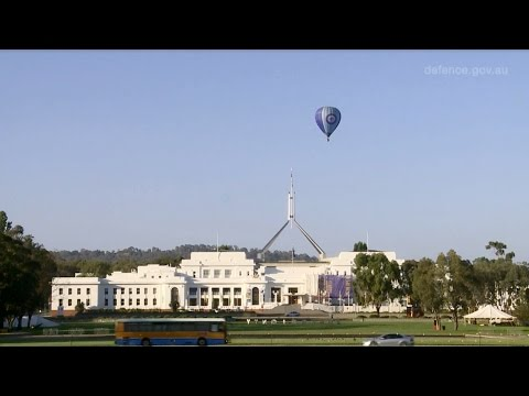 RAAF Balloon Flight Over Canberra
