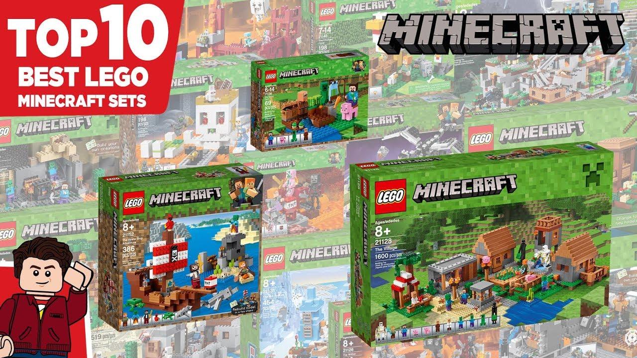 Top 8 Best LEGO Minecraft Sets