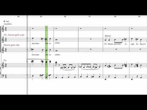 Aladdin jr, Musical, one jump part 1 , Aladdin