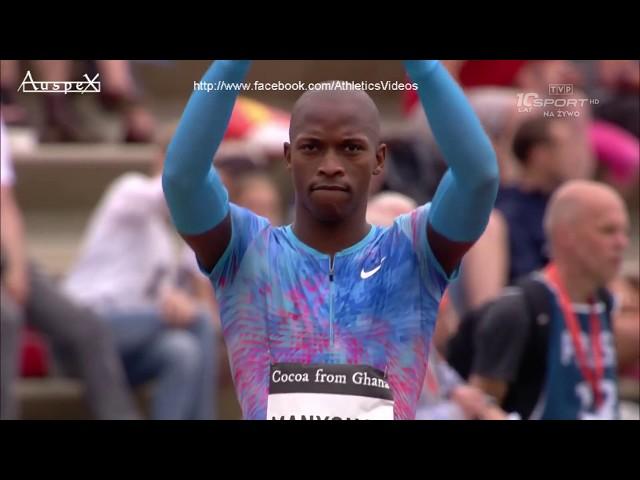 Luvo Manyonga's 8.62m big serie, Hengelo 2017