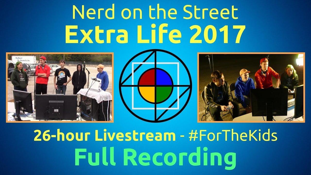 NOTS Extra Life 2017 - Full Recording