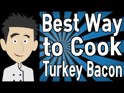 best way to cook turkey bacon youtube
