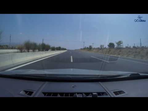 Road Trip from Patras to Athens International Airport Timelapse Video