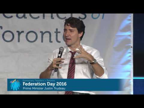 Federation Day 2016 - Q&A Session with Prime Minister Justin Trudeau