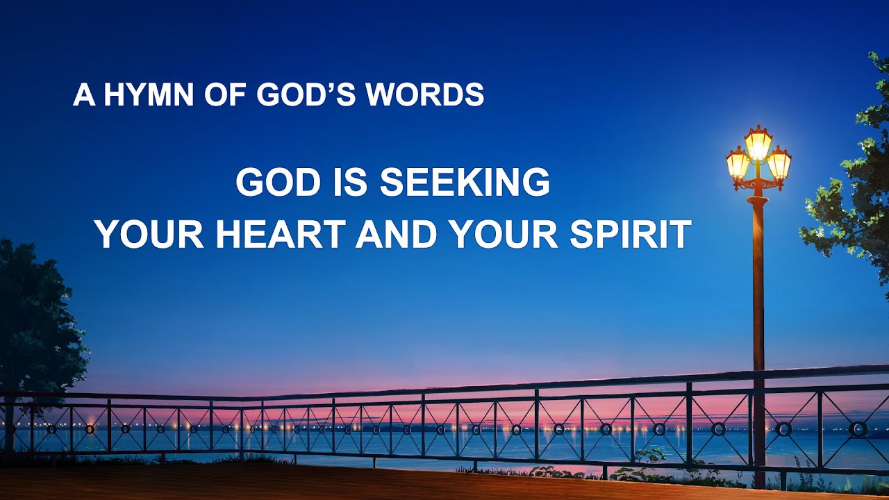 """""""God Is Seeking Your Heart and Your Spirit"""" 