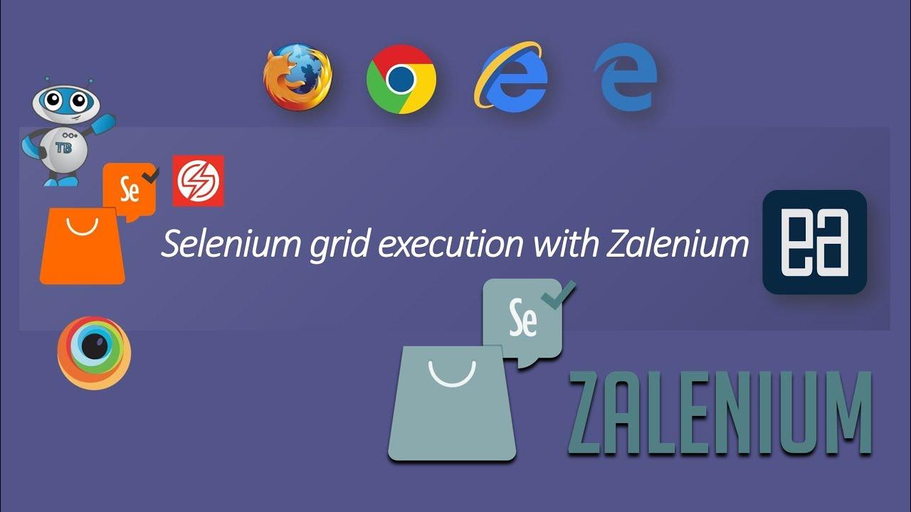 Running Selenium grid with Zalenium in Docker container